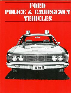 Call The Cops - American Police Car Brochures - Voices of East Anglia