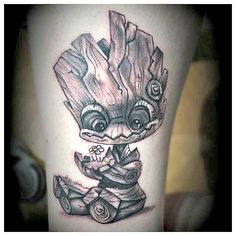 baby groot tattoo google search tattoos pinterest tattoo and tatting. Black Bedroom Furniture Sets. Home Design Ideas