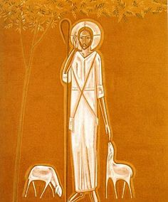The Good Shepherd, Bon Berger Religion, Writing Icon, Pictures Of Jesus Christ, Jesus Painting, Jesus Art, The Good Shepherd, Art Themes, Arte Pop, Orthodox Icons