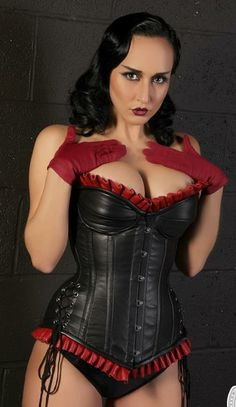 69456379aa the corset really gives the woman oomph!
