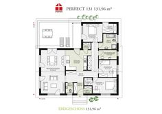 Perfect 131 - DAN-WOOD House schlüsselfertige Häuser