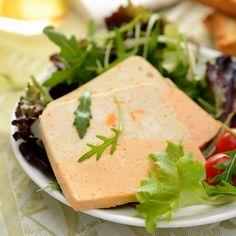 Découvrez la recette Terrine de poisson bicolore sur cuisineactuelle.fr.