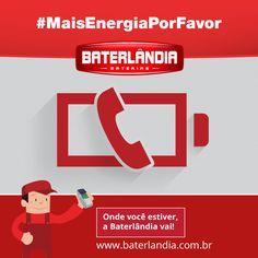Mais energia por favor!