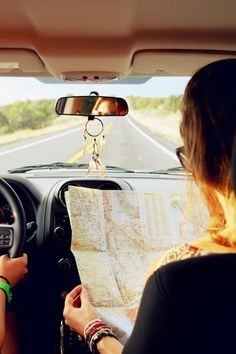 Add this to your bucket-list: going on a cross-country road trip with your best friend.  My best friend and I are a great team. She's the driver, and I'm the navigator. The best part of being the navigator is that I get to tell her where to go, and she can't disagree with me.