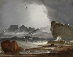 Peder Balke: The Tempest (Stormen)