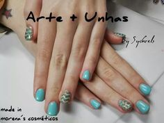 #nailart #nails #unhas decoradas #gel #abstrato