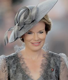 Queen Mathilde The Commonwealth War Graves Commission Ypres for The Last Post Ceremony during WWI Commemorations in Belgium on July 30, 2017.