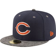 9b132b7b0 New Era Men s Chicago 2016 Draft 59Fifty Navy Fitted Hat