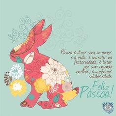 Cartões de páscoa para imprimir e colorir: Veja os modelos de cartões de feliz páscoa para enviar aos seus amigos! Clique e veja!