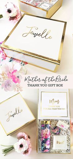 Mother of the Bride Gift Box | Mother of the Groom Gift Box| Mother of the Bride Gift Ideas
