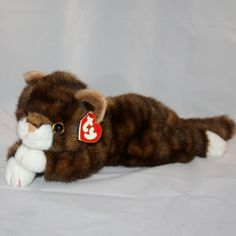 1997 Ty Classic Spice the Cat Plush Animal Pillows d0a77a930678