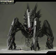 Resistance Fall of Man Concept Art