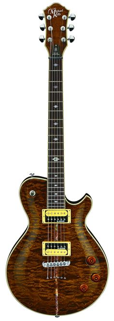 Michael Kelly CCPIRIB Patriot Instinct Bold Custom Collection Solid-Body Electric Guitar, Rich Brown $546.45