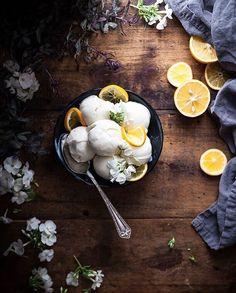 "Meyer Lemon Frozen Yogurt Recipe 9,480 Likes, 90 Comments - Kayley McCabe (@thekitchenmccabe) on Instagram: ""When it comes to frozen yogurt, I'm a minimalist to the extreme. Plain tart, no toppings. Aren't I…"""