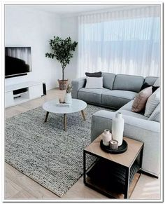 59 Small Living Room Decorating Ideas Enlarge Your Room With Decorating Techniques Minimalist Living Room DECORATING Enlarge Ideas Living Room Small Techniques Cozy Living Rooms, Home Living Room, Apartment Living, Living Room Decor, Bedroom Decor, Wall Decor, Entryway Decor, Living Room Color Schemes, Living Room Colors