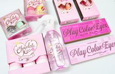 The Etude House Chocolate Kiss Collection (Plus a Giveaway) #beauty #makeup