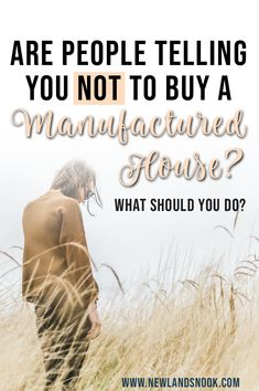 You've done your research. You know all the benefits, but family or friends keep telling you not to buy a manufactured home. It's frustrating and upsetting, so what can you do? Help | Stress | Future | Mobile | Modular | Investment | House | Tiny | Choice | Decisions | How To Stand Up For Your Choice | Believe in Yourself | You Got This | Unconventional | Housing | Affordable | Quit The Rat Race | Off-Grid | Farm | Farmstead | Homestead | Land | Ownership | Planning Your Future | Your Way | Buying A Manufactured Home, Manufactured Housing, Home Buying, Modular Cabins, Modular Homes, Helping Others, Helping People, Homestead Land, Investment House
