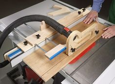 Versatile add-ons increase accuracy, improve safety, and help you get more from your table saw.