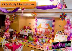 Make your party the envy of the class with on-trend kids' party decorations. We've got what you need for a professionally styled look to WOW your guests.