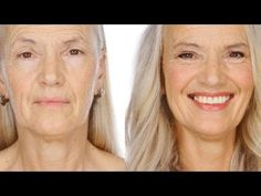 techniques demonstrated on 64 year old Yvonne to help achieve a modern, defined and natural look.