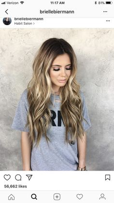 Hair color and style -Bronde