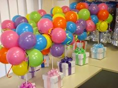 Decoración para fiestas con globos : cositasconmesh