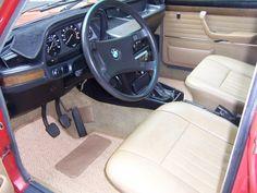 1978 BMW 530i E12 Interior
