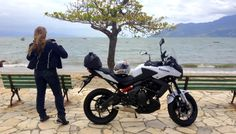 Teste Versys 650cc, postura perfeita para longas viagens – Por Eliana Malizia