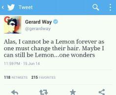 But I like lemon gee !!