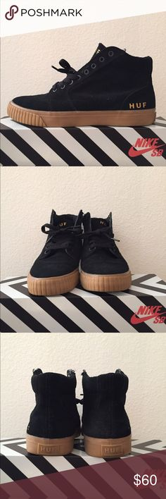3255a2948bc8e Shop Men's HUF Black Brown size Sneakers at a discounted price at Poshmark.  Description: HUF Prime skate shoes worn only a few times.