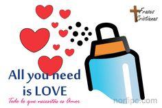 Si te sientes aburrido, sin motivaciones, ilusiones, sueños o fuerzas para vivir, todo lo que necesitas es amor