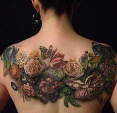 Esther Garcia of butterfat studios is one of the best tattoo artists Tattoo Henna, 100 Tattoo, Tattoo Motive, Tatoo Art, Cover Tattoo, Mandala Tattoo, Neue Tattoos, Body Art Tattoos, Sleeve Tattoos