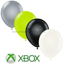 Xbox party balloons-One Stop Kids Party Shop