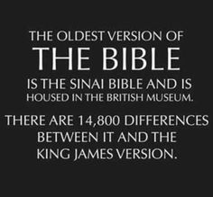 Atheism, Religion, God is Imaginary, The Bible, Contradictions. The oldest version of the Bible is the Sinai Bible and is housed in the British Museum. There are differences between it and the King James Version. Atheist Quotes, Hindi Quotes, Thought Provoking, Motivation, Christianity, Thoughts, Sayings, Words, Oldest Bible