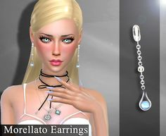Sims 4 CC's - The Best: Earrings by Genius66613