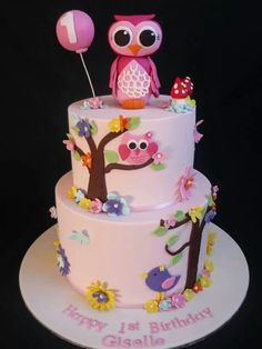 .owl cake