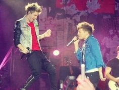 Those two are angels sent to earth to start a band with 3other angels they got named one direction
