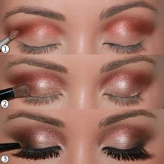 Champagne Smokey Eye