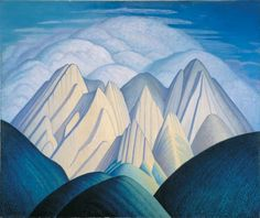 An exhibition of over 30 paintings by Group of Seven artist Lawren Harris, co-curated by comedian and art lover Steve Martin, is on display at the Art Gallery of Ontario in Toronto from July 1 to Sept. Group Of Seven Artists, Group Of Seven Paintings, Canadian Painters, Canadian Artists, Steve Martin, Lauren Harris, Art Gallery Of Ontario, Two Spirit, Art And Architecture