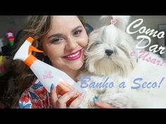 Banho a Seco | Como dar e usar no seu cachorro, cão, pet ou animal! - YouTube