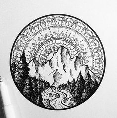 """Wonderful illustration by . Want a feature? Use for … ""Wonderful illustration by . Want a feature? Use for a chance to get featured . Tag blackwork fans below and dont…"" Natur Tattoos, Kunst Tattoos, Tattoo Drawings, Wolf Drawings, Music Drawings, Tattoo Sketches, Trendy Tattoos, New Tattoos, Tattoos For Guys"