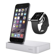 Learn about and buy the Belkin Charge Dock for Apple Watch and iPhone. Charge and display your Apple Watch and iPhone simultaneously.