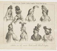 Museum of London | Ladies' Head Dress 1796