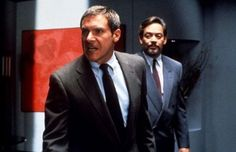 Harrison Ford and Raul Julia in Presumed Innocent Raul Julia, Presumed Innocent, Harrison Ford, Blade Runner, Great Movies, Puerto Rico, Actors & Actresses, Movie Tv, Celebrities