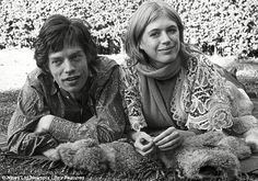 Ruined by loving Jagger: Broke, alone and performing in seedy stage shows, at 66 Marianne Faithfull STILL pines for the Stone who sexually humiliated her 40 years ago.
