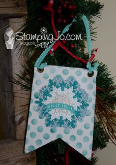 Stampin Up Build a Banner Kit http://www.stampingjo.com #stampinup #gift