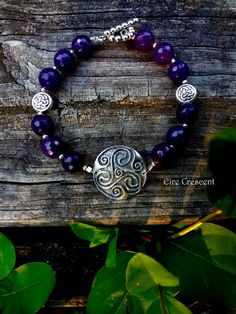 Spirit Triskele Bracelet by EireCrescent on Etsy, $24.99