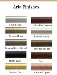 Designer drapery hardware, including curtain rods, brackets, finials, tiebacks and more from top brands.