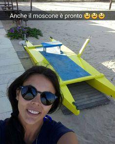 Il moscone è pronto per fare il suo #lavoro #moscone #emergenze #zaffiro76 #Rimini #spiaggia #mare #sole #snapchat #bagnina #speriamostiaagalla #nofilter by bagnozaffirorimini
