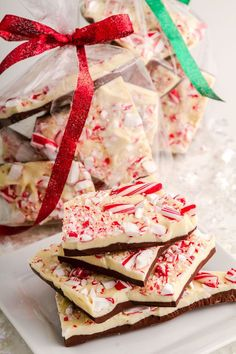 Holiday Chocolate Peppermint Bark is easy, delicious and makes a great holiday gift. Easy recipe for Christmas, Valentines Day, or any day of the year.